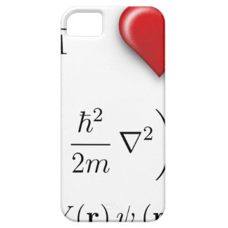 I heart Schrodinger equation iPhone 5 Covers