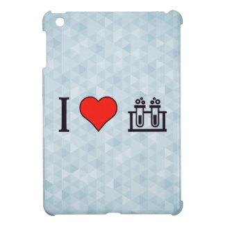 I Heart Scientific Tests iPad Mini Covers