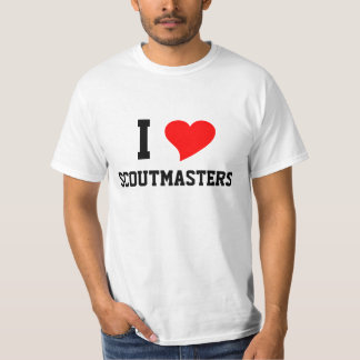 I Heart SCOUTMASTERS Tee Shirt