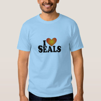 I (heart) Seals - Lite Products T-shirt