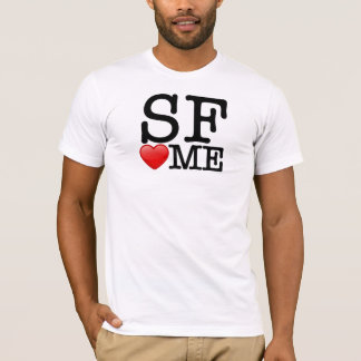 I heart SF, SF heart me T-Shirt