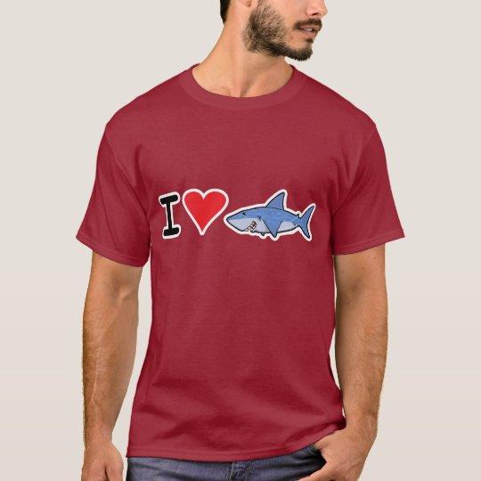 I heart shaaark T-shirt 2