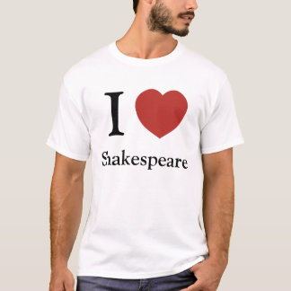 I Heart Shakespeare T-Shirt