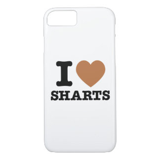 I Heart Sharts Funny Icon Graphic iPhone 7 Case