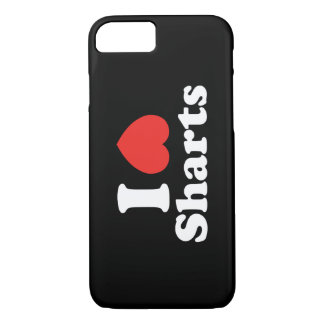 I Heart Sharts iPhone 8/7 Case
