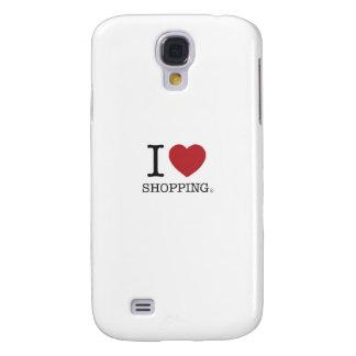 I Heart Shopping Galaxy S4 Case