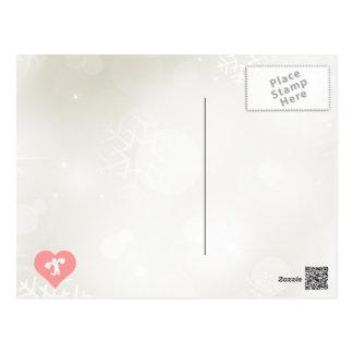 I Heart Shopping Vector Postcard