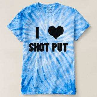 I Heart Shot Put, Shot Put Thrower Shirt
