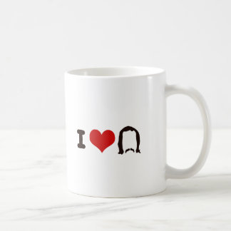 I Heart Silhouette Coffee Mug