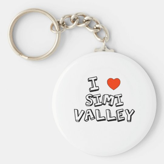 I Heart Simi Valley Key Ring