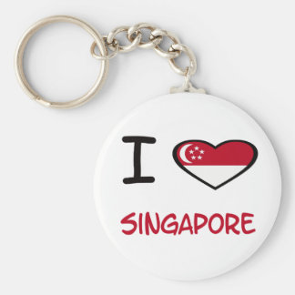 I Heart Singapore Key Ring