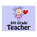I Heart Sixth Grade Teacher