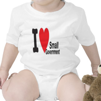 I heart Small Government T-shirt