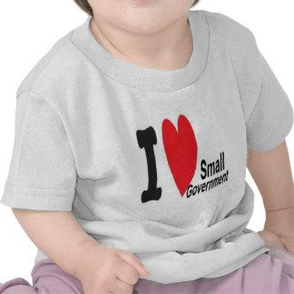 I heart Small Government Tshirt