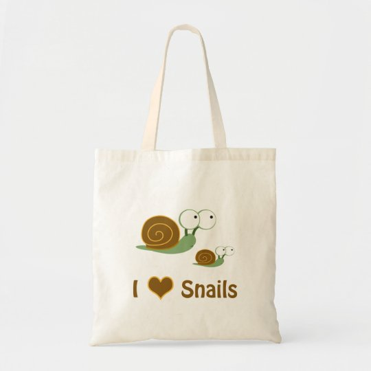I Heart Snails- two cute snails