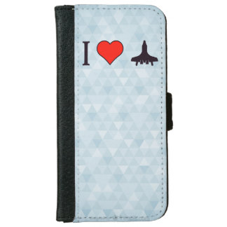 I Heart Soaring High iPhone 6 Wallet Case