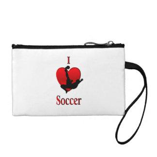 I Heart Soccer Coin Purse