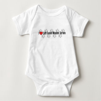 i (heart) Soft Coated Wheaten Terriers Baby Bodysuit