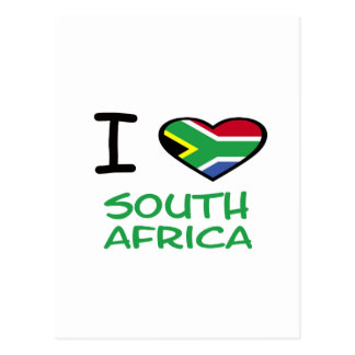I heart South Africa Postcard