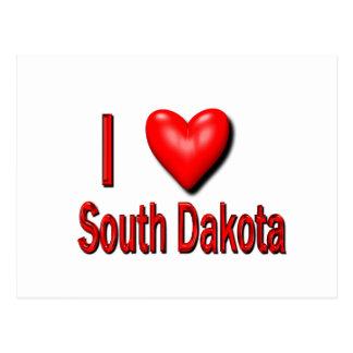 I Heart South Dakota Post Card