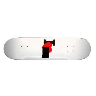 I Heart South Dakota Skate Boards