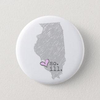 i heart southern illinois 6 cm round badge