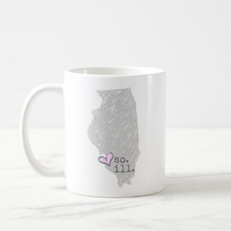 i heart southern illinois coffee mug