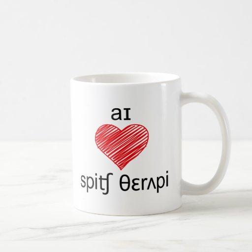 I heart Speech Therapy Mug