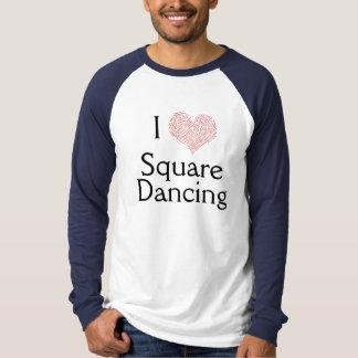 I Heart Square Dancing T-Shirt