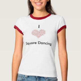 I Heart Square Dancing T Shirts