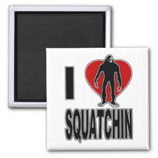 I Heart Squatchin Magnets