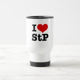 I Heart St. Paul / St. Peter Stainless Steel Travel Mug
