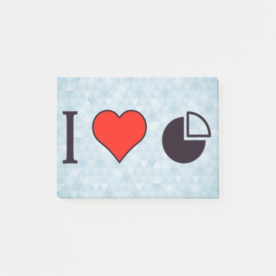 I Heart Statistics Post-it® Notes