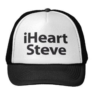 I heart Steve Trucker Hats
