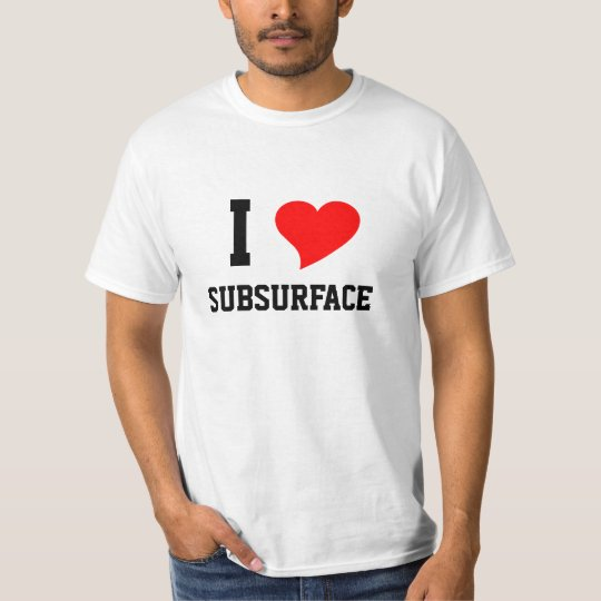 I Heart SUBSURFACE T-Shirt