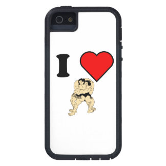 I Heart Sumo Wrestling iPhone 5 Covers
