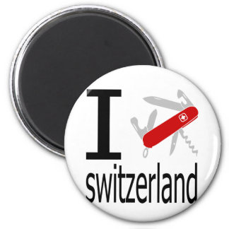 I Heart Switzerland Magnet