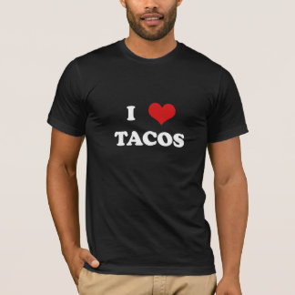 I Heart Tacos (for dark shirts) T-Shirt