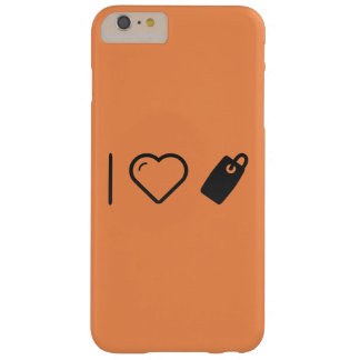 I Heart Tags Barely There iPhone 6 Plus Case