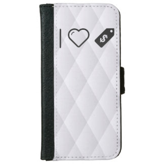 I Heart Tags iPhone 6 Wallet Case