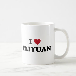 I Heart Taiyuan China Basic White Mug