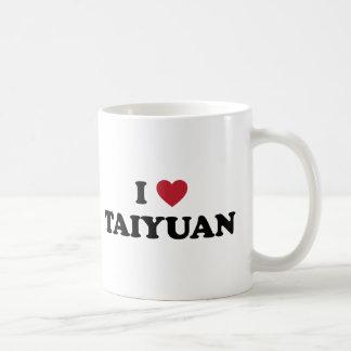 I Heart Taiyuan China Basic White Mug