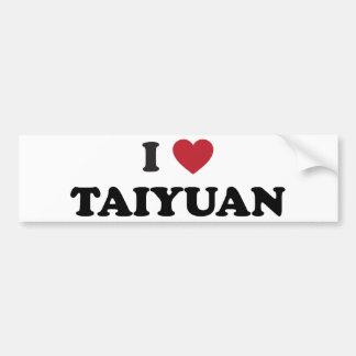 I Heart Taiyuan China Bumper Sticker