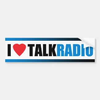 I Heart Talk Radio Bumper Sticker