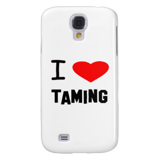 I Heart taming Galaxy S4 Cover