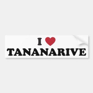I Heart Tananarive Madagascar Bumper Stickers
