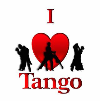 I Heart Tango Photo Cut Out
