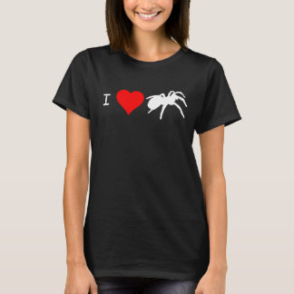 I Heart Tarantulas T-shirt (Black)