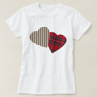 I Heart Tartan T Shirt