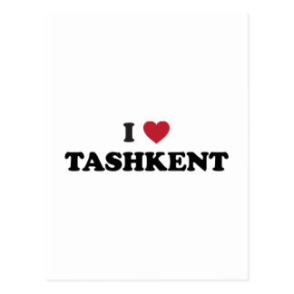 I Heart Tashkent Uzbekistan Post Cards